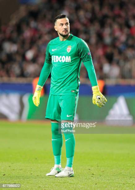 Danijel Subasic during Champions League Semifinals match between Juventus v Monaco in Principality of Monaco on may 3 2017
