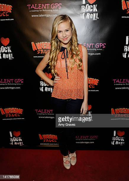 Danika Yarosh attends the Shamrock and Roll Concert for St. Jude Children's Hospital on March 17, 2012 in Los Angeles, California.