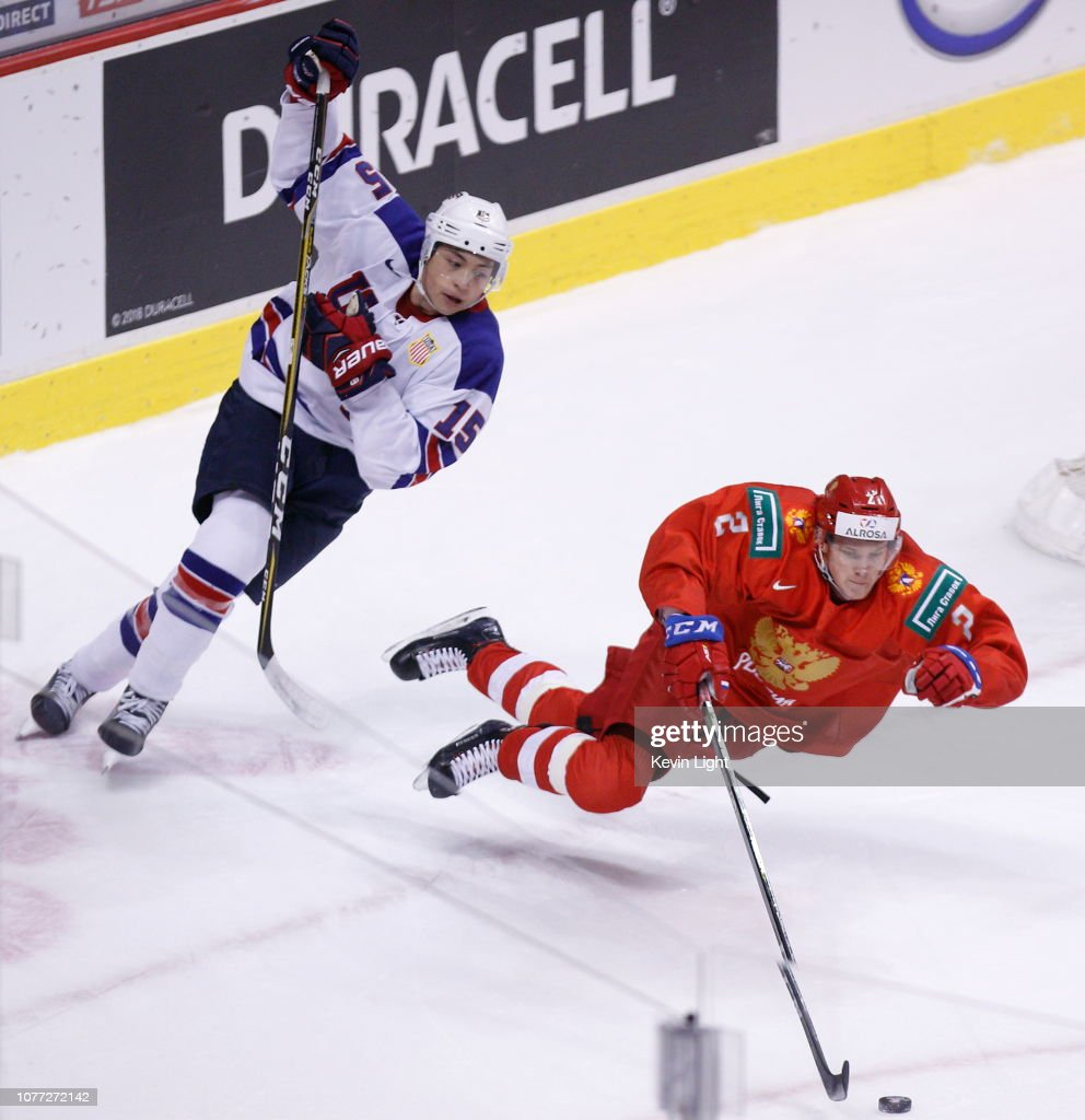 United States v Russia: Semifinals - 2019 IIHF World Junior Championship : ニュース写真