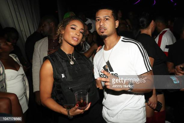 DaniLeigh and Gotti Benz attend the BET Hip Hop Awards 2018 YG Def Jam After Party at Rockwell Miami on October 6 2018 in Miami Beach Florida