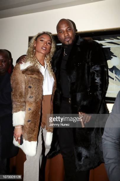DaniLeigh and Jeezy attend the 2018 Def Jam Holiday Party at China Chalet on December 13 2018 in New York City