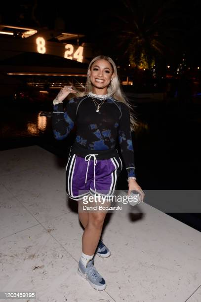 DaniLeigh attends Lil Wayne's Funeral album release party on February 01 2020 in Miami Florida