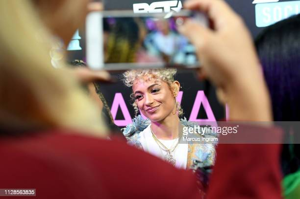 DaniLeigh attends the 2019 BET Social Awards at Tyler Perry Studio on March 3 2019 in Atlanta Georgia