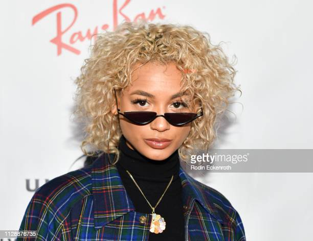 DaniLeigh attends the Universal Music Group's 2019 After Party To Celebrate The GRAMMYs at ROW DTLA on February 10 2019 in Los Angeles California
