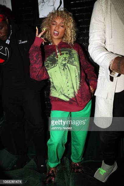Danileigh attends Ty Dolla $ign and Jeremih's MihTy Album Release Party at The VNYL on October 24 2018 in New York City