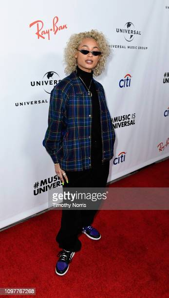 DaniLeigh attends Universal Music Group's 2019 After Party Presented by Citi Celebrates The 61st Annual Grammy Awards on February 9 2019 in Los...