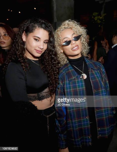 DaniLeigh attends Universal Music Group's 2019 After Party Presented by Citi Celebrates Music's Biggest Night on February 9 2019 in Los Angeles...