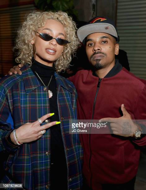 DaniLeigh attendsUniversal Music Group's 2019 After Party Presented by Citi Celebrates Music's Biggest Night on February 9 2019 in Los Angeles...