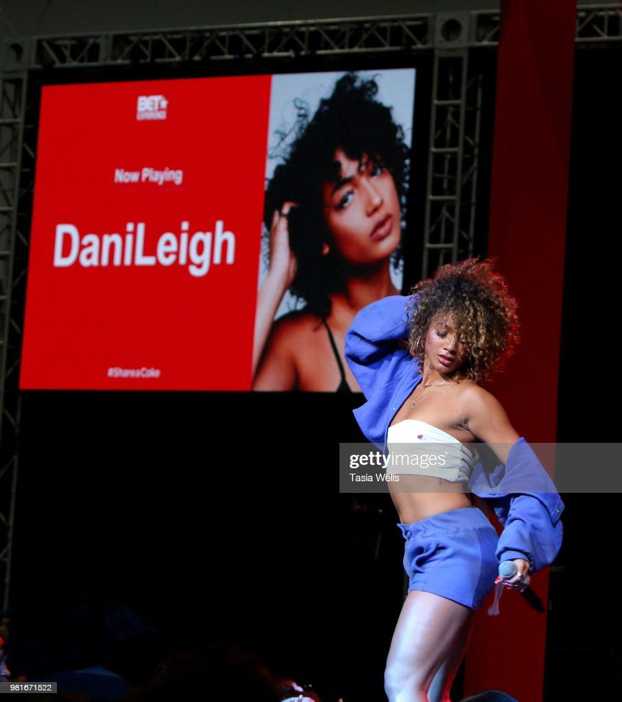 2018 BET Experience - Coca-Cola Music Studio - Day 1 : News Photo