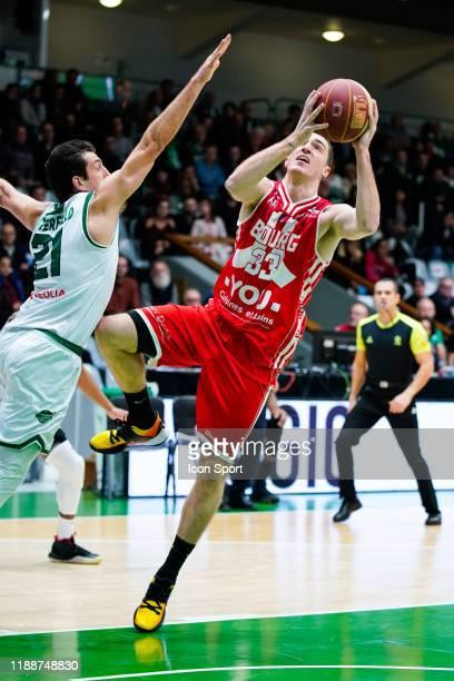 Danilo ANDJUSIC of Bourg-En-Bresse during the Jeep Elite match between Nanterre 92 and JL Bourg Basket on December 14, 2019 in Nanterre, France.