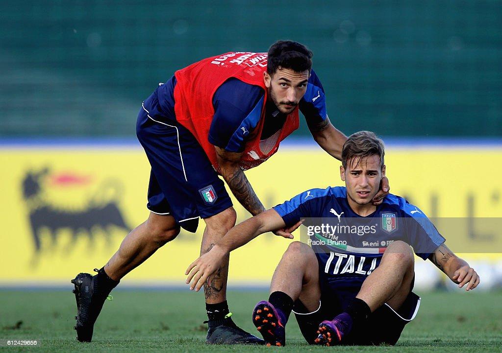 Italy U21 Trainig Session : News Photo