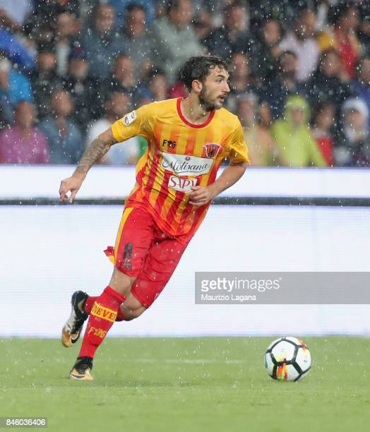 Danilo Cataldi of Benevento during the Serie A match between Benevento Calcio and Torino FC at Stadio Ciro Vigorito on September 10 2017 in Benevento...