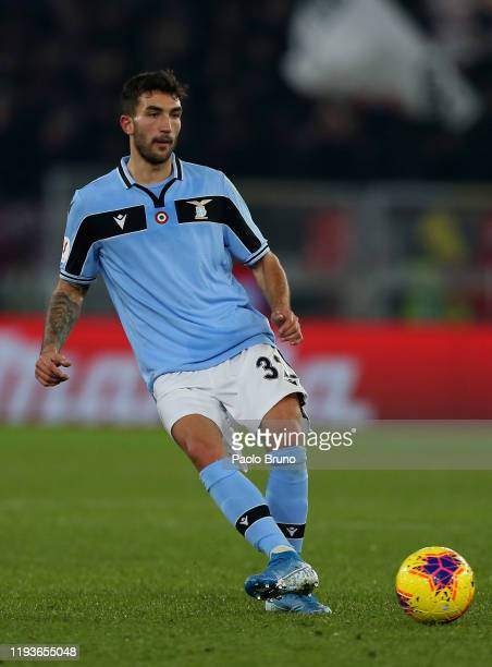 Danilo Cataldi of SS Lazio in action during the Coppa Italia match between SS Lazio and US Cremonese at Olimpico Stadium on January 14 2020 in Rome...