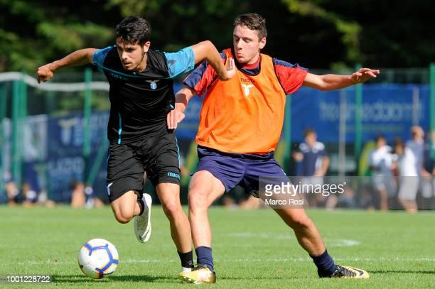 Danilo Cataldi of SS Lazio in action during the preseason friendly match between SS Lazio and Auronzo di Cadore on July 18 2018 in Auronzo di Cadore...