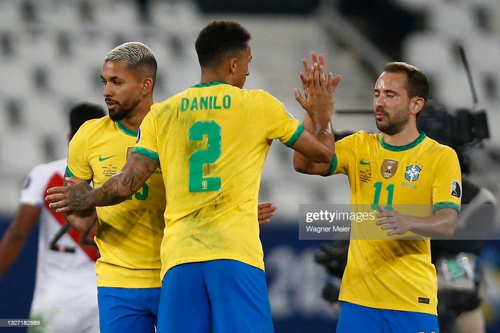 Brazil v Peru - Copa America Brazil 2021: Semifinal : News Photo