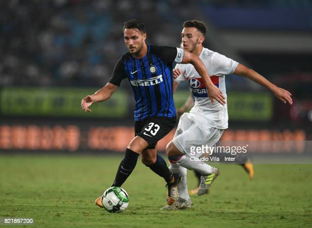 Danilo D'Ambrosio of FC Internazionale in action during the 2017 International Champions Cup match between FC Internazionale and Olympique Lyonnais...