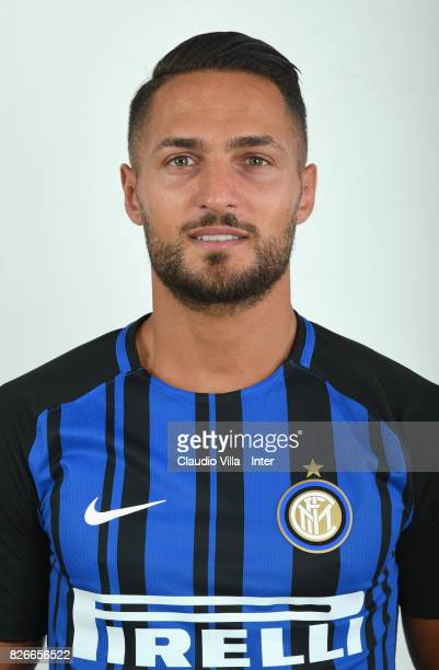 Danilo D'Ambrosio of FC Internazionale poses on July 11 2017 in Reischach near Bruneck Italy