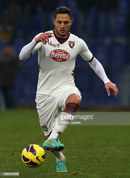 Danilo D'Ambrosio of Torino FC in action during the Serie A match between Genoa CFC and Torino FC at Stadio Luigi Ferraris on December 16 2012 in...