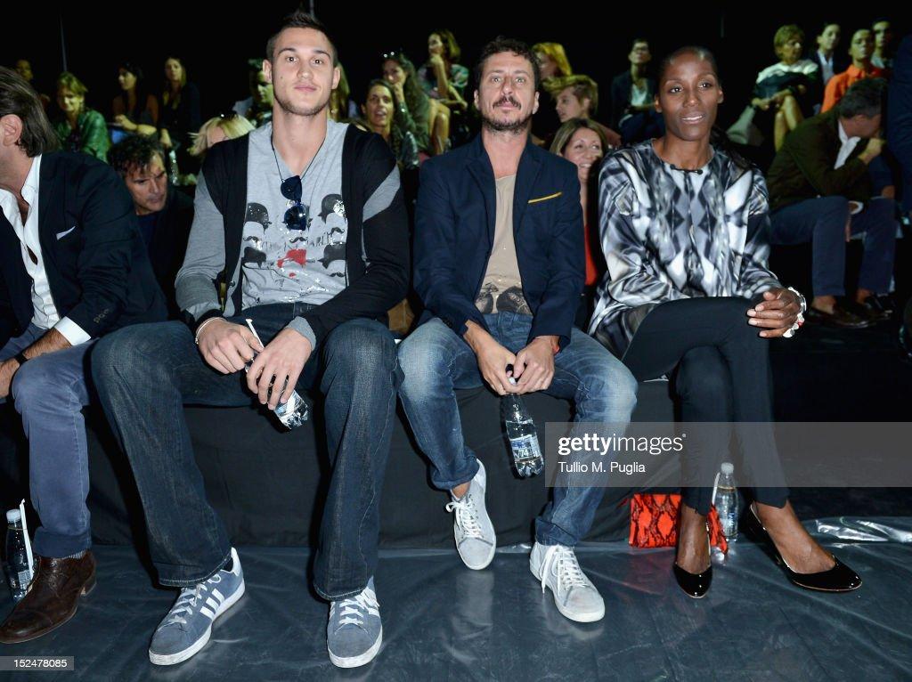 Iceberg - Front Row - Milan Fashion Week Womenswear S/S 2013