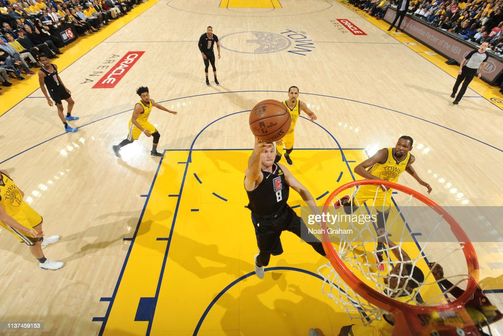 LA Clippers v Golden State Warriors - Game Two : Foto jornalística