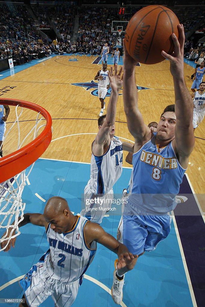 Denver Nuggets v New Orleans Hornets