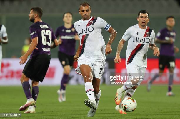 Danilo Larangeira of Bologna FC in action during the Serie A match between ACF Fiorentina and Bologna FC at Stadio Artemio Franchi on July 29, 2020...