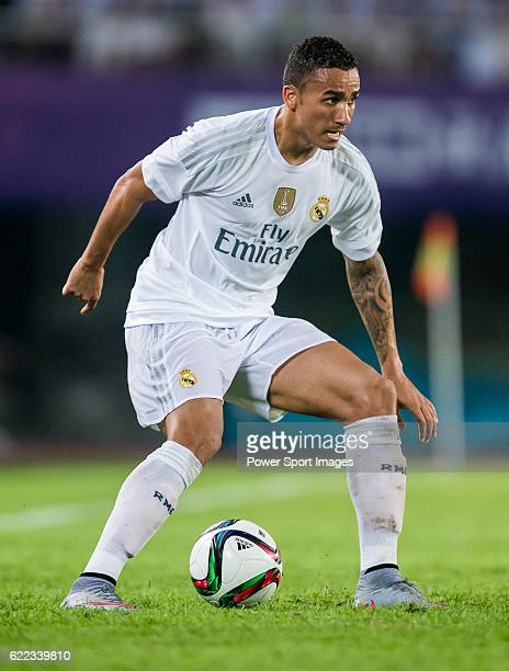 Danilo Luiz Da Silva of Real Madrid CF in action during the match between FC Internazionale Milano and Real Madrid as part of the International...