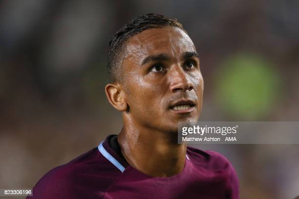 Danilo of Manchester City during the International Champions Cup 2017 match between Manchester City and Real Madrid at Los Angeles Memorial Coliseum...