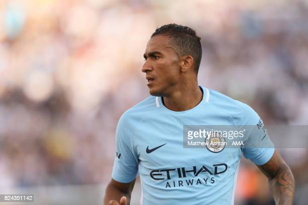 Danilo of Manchester City during the International Champions Cup 2017 match between Manchester City and Tottenham Hotspur at Nissan Stadium on July...