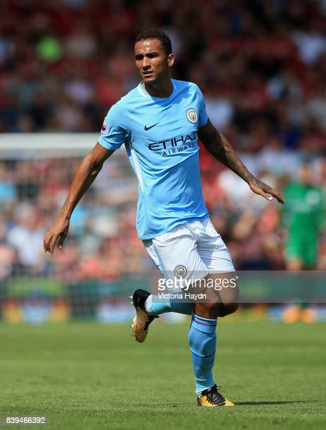 Danilo of Manchester City in action during the Premier League match between AFC Bournemouth and Manchester City at Vitality Stadium on August 26 2017...
