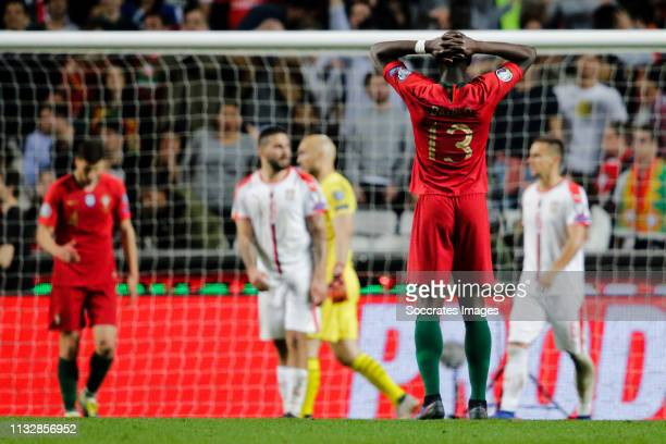 Danilo of Portugal during the EURO Qualifier match between Portugal v Serbia at the Estádio da Luz on March 25 2019 in Lisbon Portugal