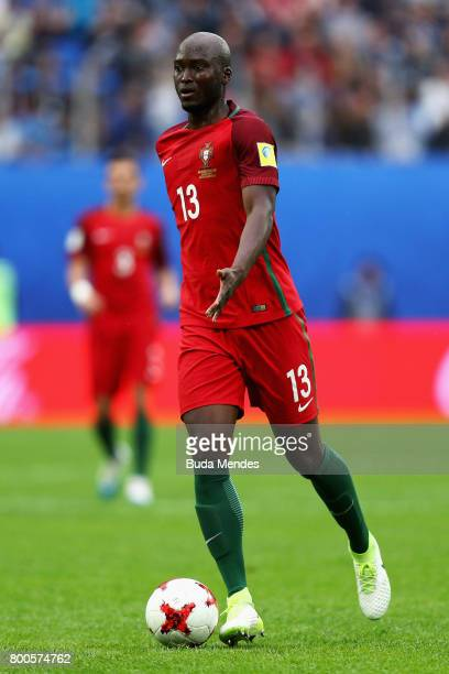 Danilo of Portugal in action during the FIFA Confederations Cup Russia 2017 Group A match between New Zealand and Portugal at Saint Petersburg...