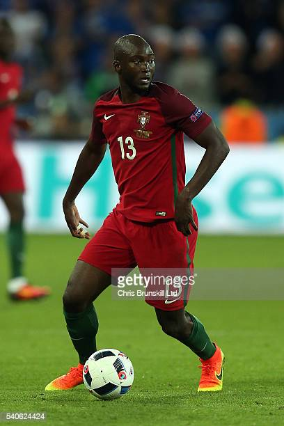 Danilo of Portugal in action during the UEFA Euro 2016 Group F match between Portugal and Iceland at Stade GeoffroyGuichard on June 14 2016 in...