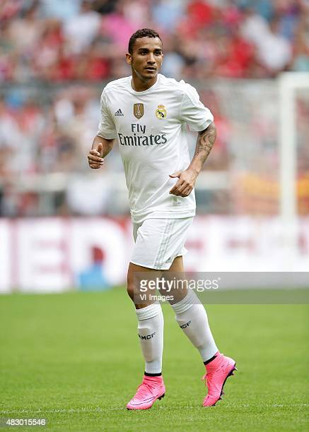 Danilo of Real Madrid during the AUDI Cup match between Real Madrid and Tottenham Hotspur on August 4 2015 at the Allianz Arena in Munich Germany
