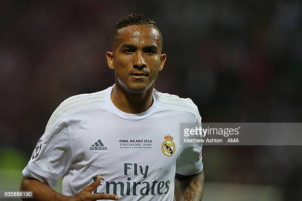 Danilo of Real Madrid in action during the UEFA Champions League final match between Real Madrid and Club Atletico de Madrid at Stadio Giuseppe...