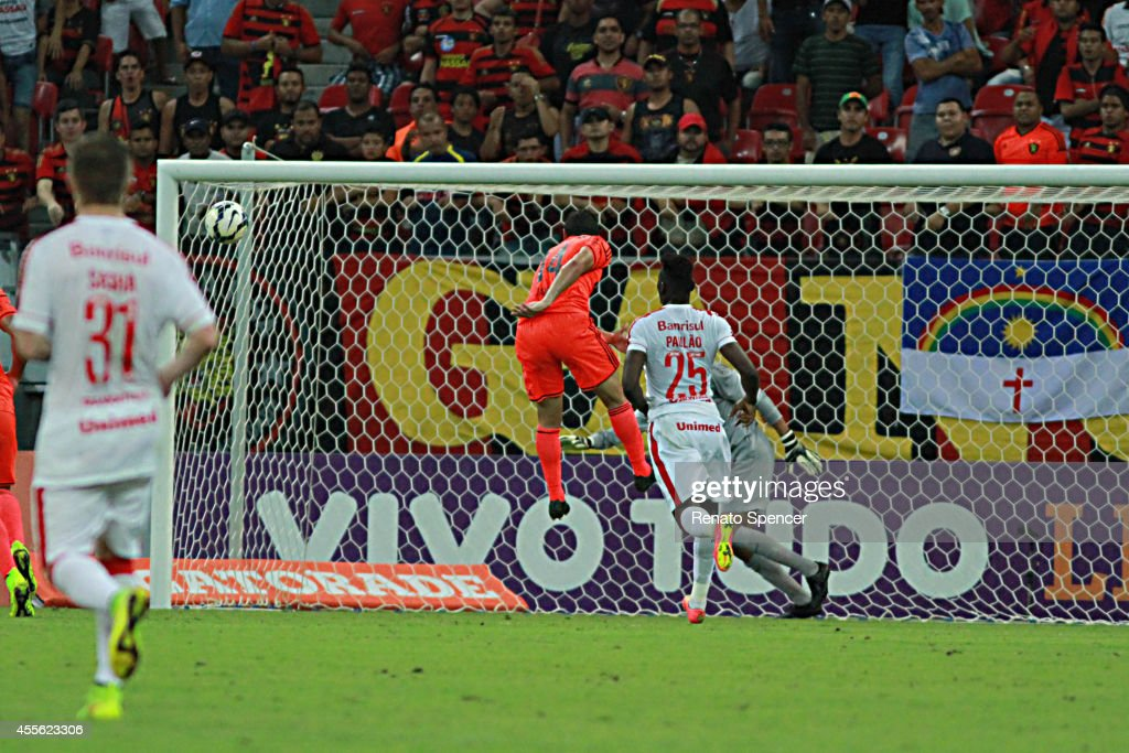 Danilo Of Sport Recife Header During The Brasileirao Series A 2014 News Photo Getty Images
