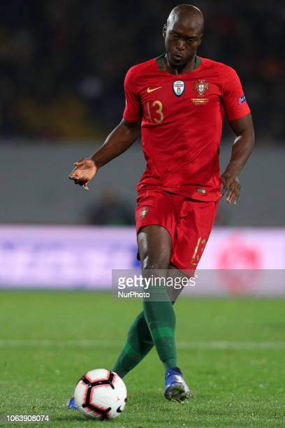 Danilo Pereira defender of Portugal in action during the UEFA Nations League football match between Portugal and Poland at the Dao Afonso Henriques...