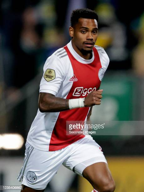 Danilo Pereira of Ajax during the Dutch Eredivisie match between Fortuna Sittard v Ajax at the Fortuna Sittard Stadium on September 21, 2021 in...