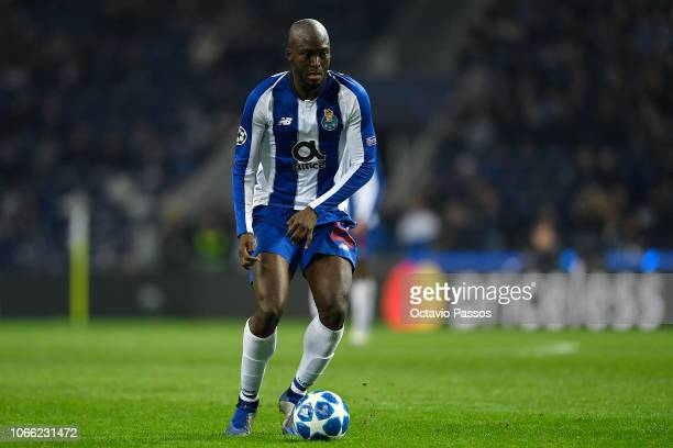 Danilo Pereira of FC Porto in action during the Group D match of the UEFA Champions League between FC Porto and FC Schalke 04 at Estadio do Dragao on...