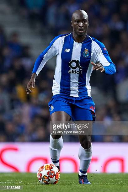 Danilo Pereira of FC Porto in action during the UEFA Champions League Round of 16 Second Leg match between FC Porto and AS Roma at Estadio do Dragao...