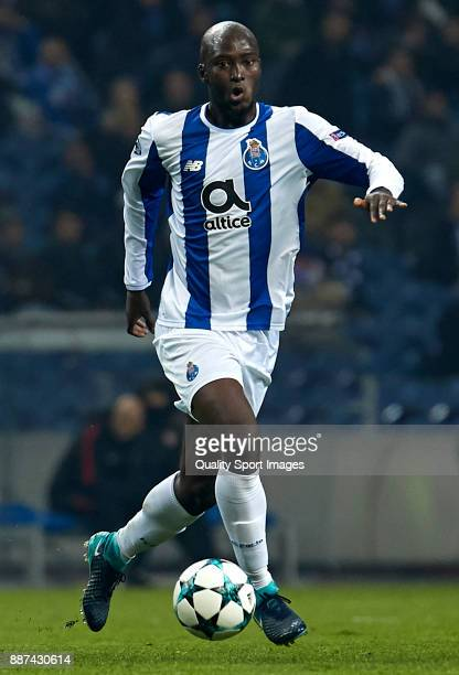 Danilo Pereira of FC Porto in action during the UEFA Champions League group G match between FC Porto and AS Monaco at Estadio do Dragao on December 6...