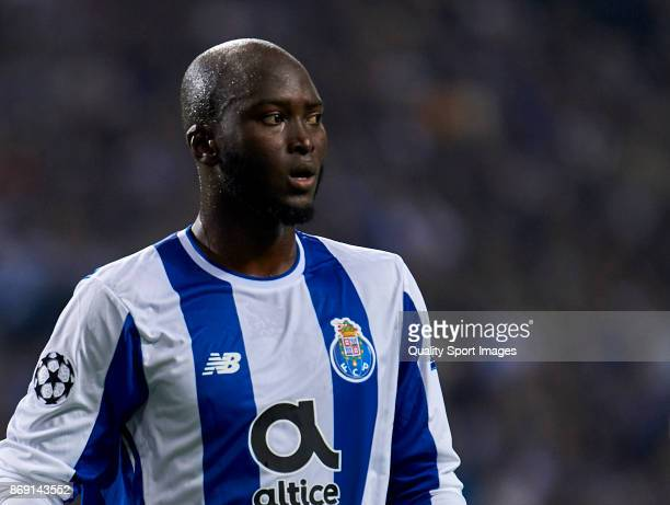 Danilo Pereira of FC Porto looks on during the UEFA Champions League group G match between FC Porto and RB Leipzig at Estadio do Dragao on November 1...