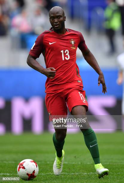 Danilo Pereira of Portugal in action during the FIFA Confederation Cup Group A match between New Zealand and Portugal at Saint Petersburg Stadium on...