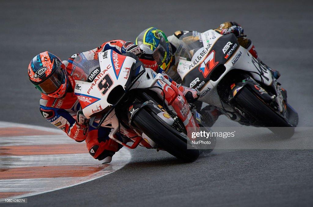 Danilo Petrucci Of Italy And Alma Pramac Racing Ducati Abd Karel