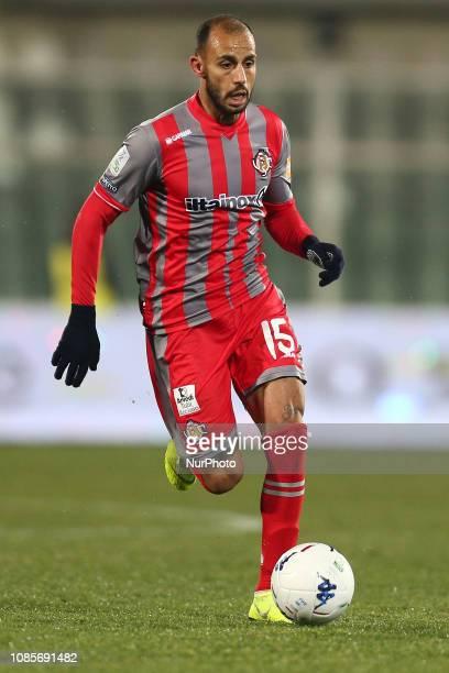 Danilo Soddimo US Cremonese during the Italian Serie B 2018/2019 match between Pescara Calcio 1936 FC and US Cremonese at Stadio Adriatico...