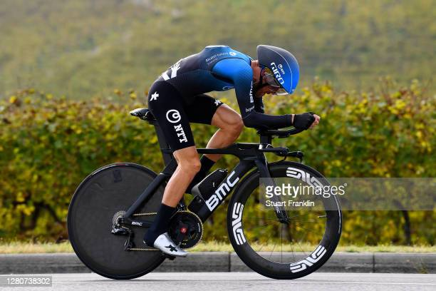 Danilo Wyss of Switzerland and NTT Pro Cycling Team / during the 103rd Giro d'Italia 2020, Stage 14 a 34,1km individual Time Trial from Conegliano to...