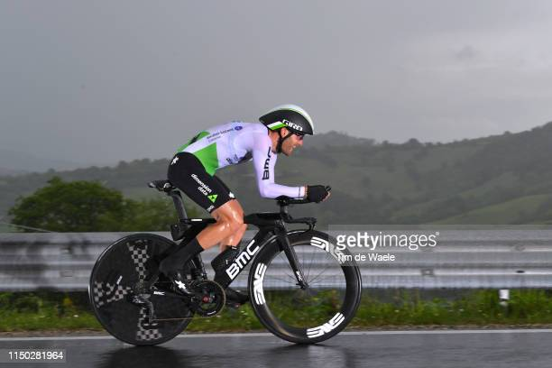 Danilo Wyss of Switzerland and Team Dimension Data / during the 102nd Giro d'Italia 2019, Stage 9 a 34,8km Individual Time Trial from Riccione to San...