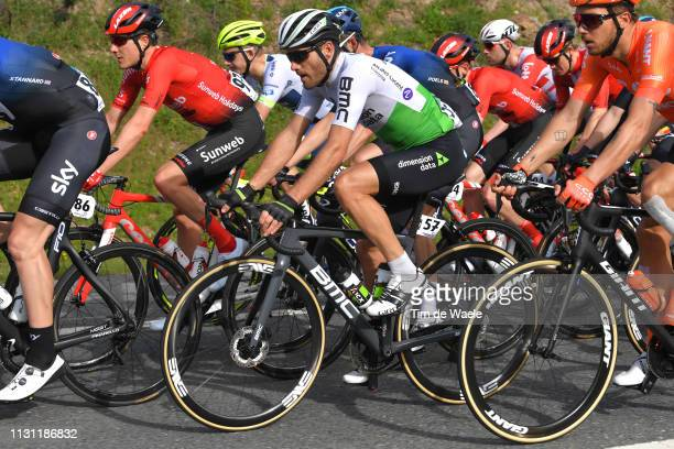 Danilo Wyss of Switzerland and Team Dimension Data / during the 45th Volta ao Algarve, Stage 2 a 187,4 km stage from Almodôvar to Alto Da Fóia 900m /...