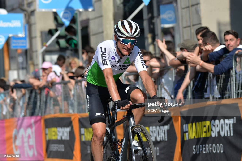 Danilo Wyss of Switzerland and Team Dimension Data seen in... : News Photo