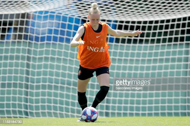 Danique Kerkdijk of Holland Women during the Training Holland Women at the Stade du Merlo on July 2, 2019 in Lyon France